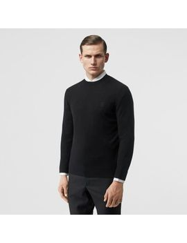 Monogram Motif Cashmere Sweater by Burberry