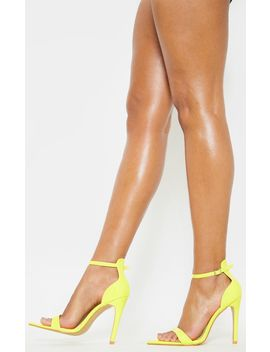 neon-yellow-point-toe-strappy-sandal- by prettylittlething