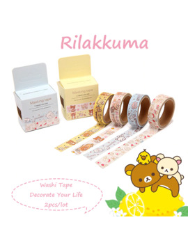 2pcs_lot-anime-rilakkuma-washi-tape-set-totoro-cute-stickers-scrapbooking-kawaii-decorative-sumikko-gurashi-japanese-stationery by aliexpresscom