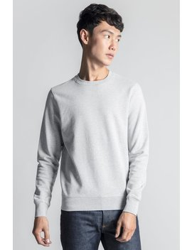 The Sweatshirt   Grey Melange by Asket
