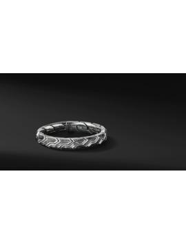 Forged Carbon Link Bracelet by David Yurman