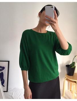 envolée-sweater---lightweight-cashmere-wool-sweater-with-balloon-sleeves-_transitional-season-sweater-(more-colours-available) by etsy