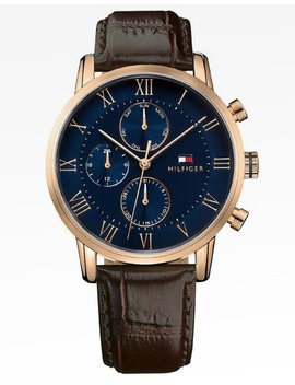 tommy-hilfiger-kane-watch-brown_blue by tommy-hilfiger-watches