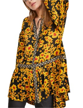 love-letter-floral-print-tunic by free-people