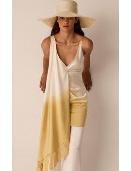 fringed-silk-dress by alejandra-alonso-rojas