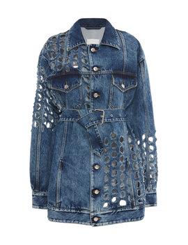 belted-denim-jacket by maison-margiela