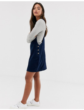 brave-soul-alexa-cord-overall-dress by asos