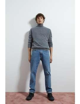 kaszmirowy-sweter-z-odwijanym-golfem by zara