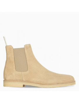 Beige Chelsea Boots by Common Projects