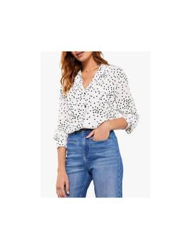 mint-velvet-spot-blouse,-multi by mint-velvet