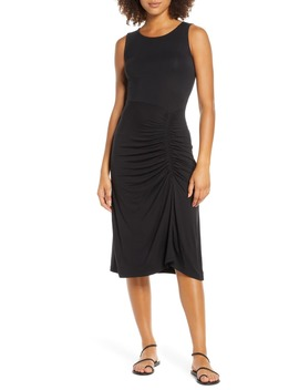 ruched-dress by fraiche-by-j