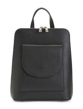 made-in-italy-slim-convertible-leather-backpack by tano