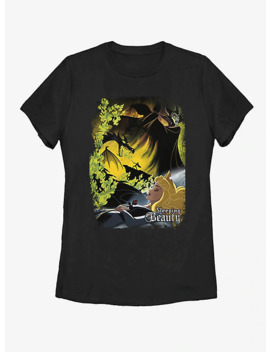 Disney Sleeping Beauty Poster Womens T Shirt by Box Lunch
