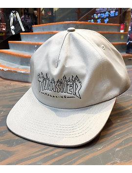Thrasher Witch Tan Snapback Hat by Zumiez