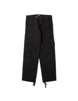 Carhartt Wip Regular Cargo Pant / Black Rinsed by Carhartt Wip
