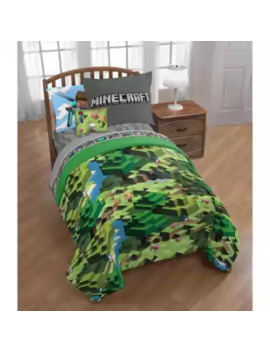 minecraft-3-piece-twin_full-comforter-set by bed-bath-and-beyond