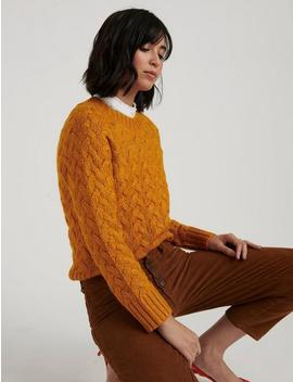 Quinn Cable Pullover by Lucky Brand