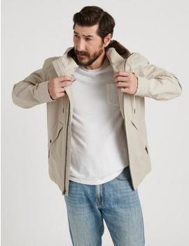 Water Resistant Hooded Jacket by Lucky Brand