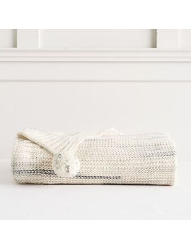 Lily Ashwell Space Dye Knit Throw by P Bteen