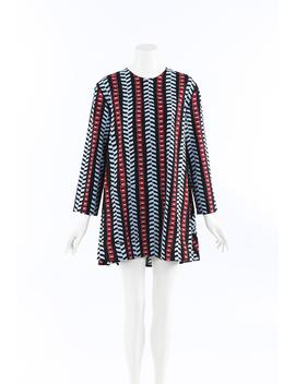 Geometric Wool Mini Tent Dress by Balenciaga