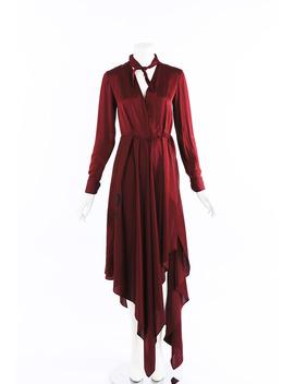 Foulard Silk Maxi Dress by Off White
