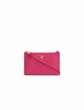 Zipped Clutch by Prada