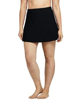 Women's Slender Tummy Control Swim Skirt Swim Mini by Lands' End