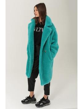 Tala Turquoise   Wool / Silk Mix by Ducie