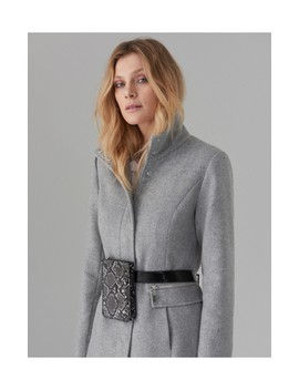 Gyapjútartalmú Kabát by Mohito