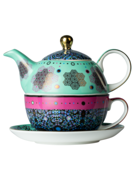 Moroccan Tealeidoscope Aqua Tea For One by T2 Tea
