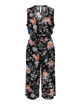 Printet Wrap Jumpsuit by Only
