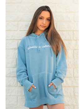 Sydney Serena: Blue Dream Chaser Hoodie by Fanjoy