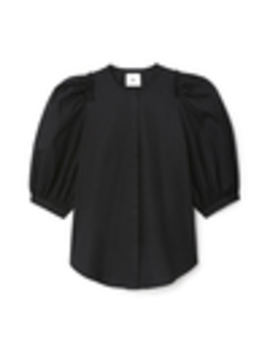 Tracy Puff Sleeve Button Down Shirt by G. Label