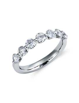 Classic Floating Diamond Ring In Platinum (1 Ct. Tw.) by Blue Nile