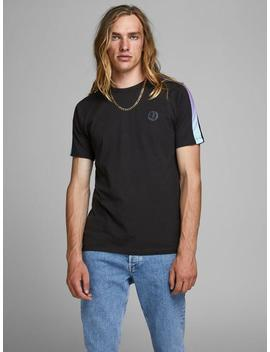 Core T Shirt With Gradient Stripes by Jack & Jones