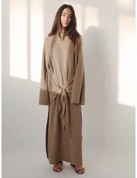 Mahali Knit Dress by Nanushka