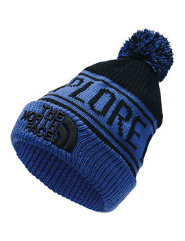 The North Face Youth Retro Explore Pom Beanie by The North Face