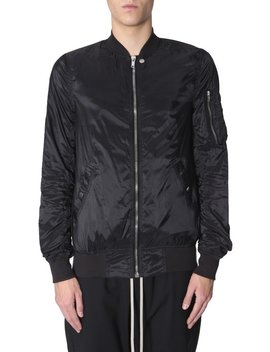 Rick Owens Drkshdw Classic Bomber Jacket by Rick Owens Drkshdw Rick Owens Drkshdw