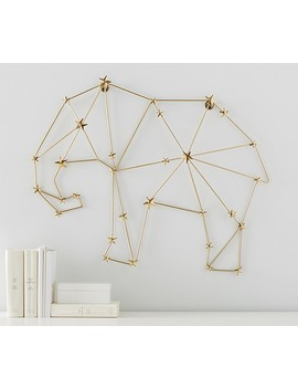 Starry Elephant Wall Decor by Pottery Barn Kids