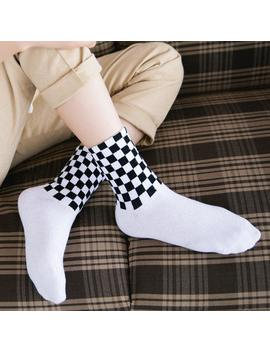 """Racer"" Socks by Aesthentials"