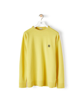 Anagram Sweater 				 				 				 				 				 				 				Yellow by Loewe