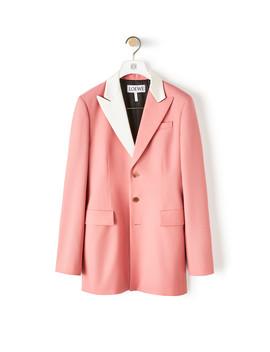2 Bt Tuxedo Jacket       Old Pink by Loewe