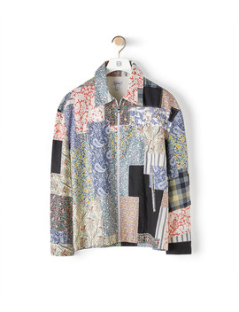 Zip Patchwork Jacket 				 				 				 				 				 				 				Multicolor by Loewe