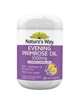 Evening Primrose Oil Capsules 1000mg by Nature's Way