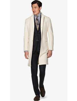Off White Overcoat by Suitsupply