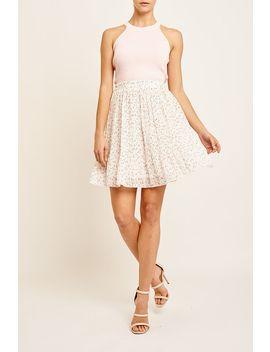 Adeline Pleated Mini Skirt by Valleygirl
