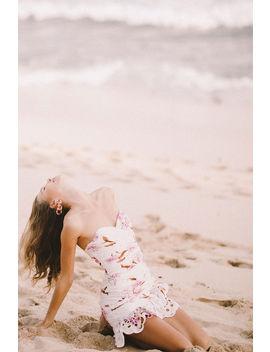 Floral Print Dress by Bardot