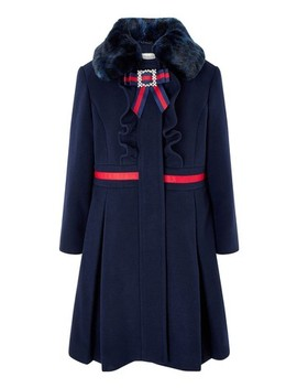 Monsoon Children Blue Robyn Coat by Next