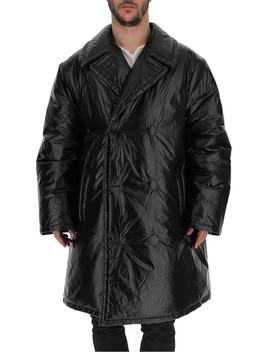 Maison Margiela Puffer Double Breasted Trench Coat by Maison Margiela Maison Margiela
