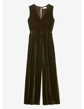 Silk Velvet Jumpsuit by Toast